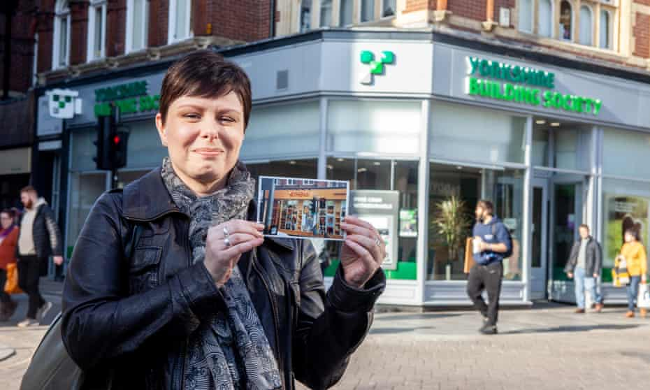 Jacqui Martin, who worked at Athena in Exeter for 15 years, outside the store's former premises.