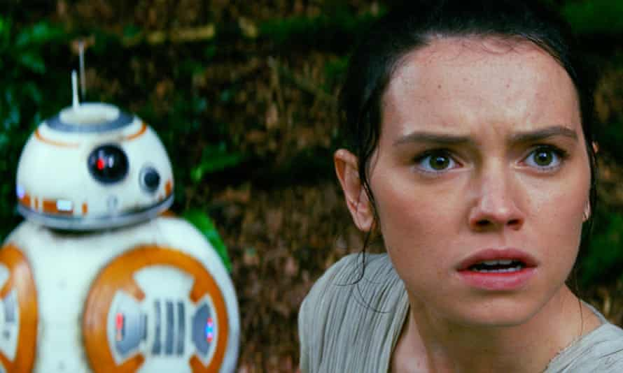 Star Wars: The Force Awakens: Daisy Ridley and BB-8