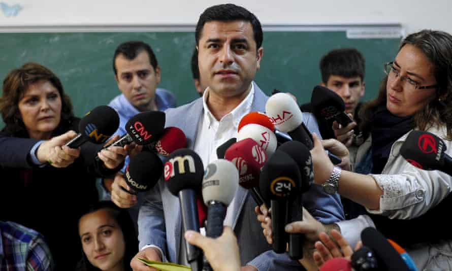 Selahattin Demirtas, co-leader of the pro-Kurdish HDP, Turkey's third largest party, was arrested at his home in Ankara.