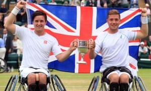 Gordon Reid and Alfie Hewett