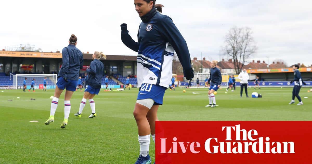 Chelsea v Reading: Womens Super League –live!