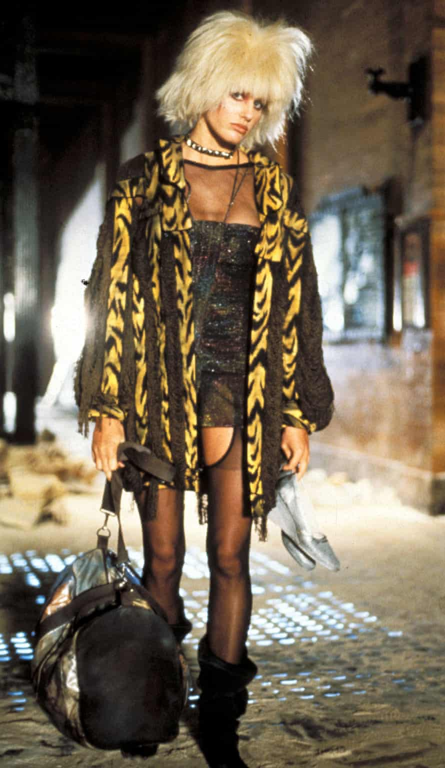 Pris, a replicant, in Bladerunner