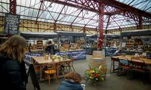 'Inspired by Altrincham Market House (pictured) and others, a lot of money is currently pouring into 'food halls'.'