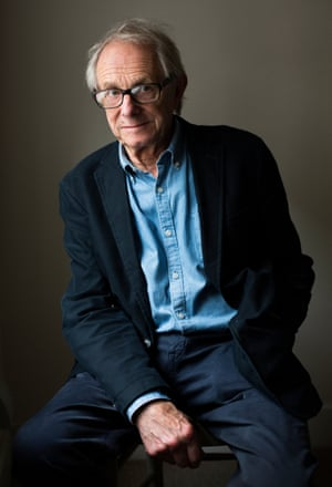 Head shot of of film director Ken Loach
