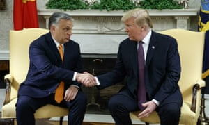 Viktor Orbán and Donald Trump