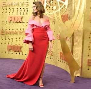 Mandy Moore at the Emmy awards in September.