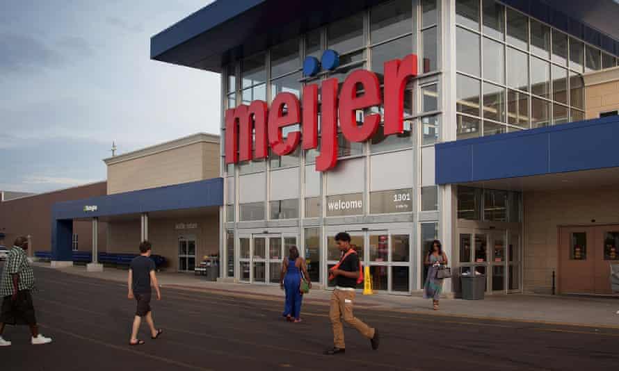 A Meijer store in Michigan