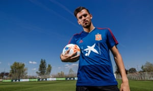 Arsenal's Dani Ceballos, pictured at Spain's training camp this month, says he loves London, his new club and the Premier League.