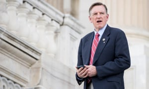 Congressman Paul Gosar's Twitter account featured a series of tweets with a cryptic message.