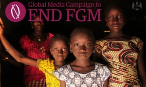 A poster from the Global Media Campaign to End FGM