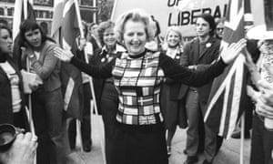'Over the four decades since the 1975 referendum, Tory Europhilia – as epitomised by Margaret Thatcher, above – has turned so thoroughly into its opposite it seems unimaginable.'