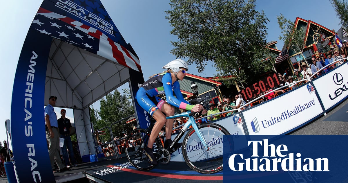 US cycling champion Gwen Inglis dies after being struck by car on training ride