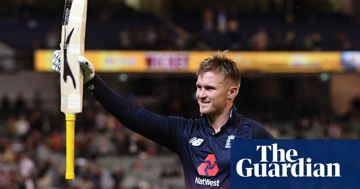 Jason Roy blasts England's highest ODI score in five-wicket win ...