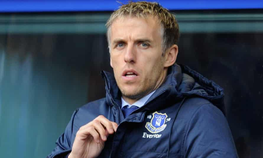 Phil Neville has many admirers at the FA despite his lack of experience in the women's game