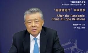 Liu Xiaoming said Huawei had been dumped and purged.