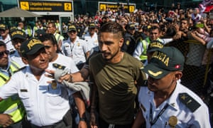 448451ce0 Paolo Guerrero will feature at the 2018 World Cup after his doping ban was  overturned. Photograph: Ernesto Benavides/AFP/Getty Images