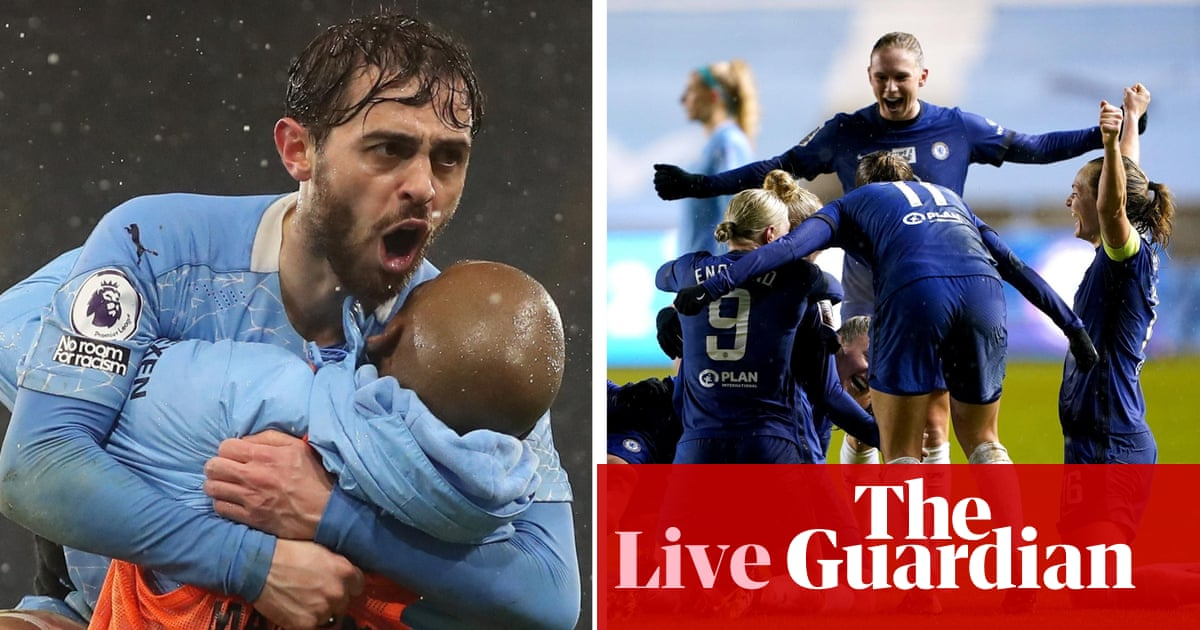 Manchester City, Chelsea and a tale of two titles: football countdown – live!
