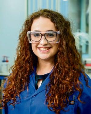 Catherine Leahy, apprentice corrosion technician, TWI