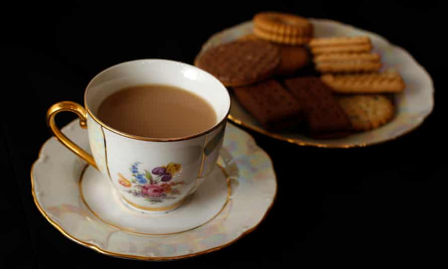 cup of tea and biscuit