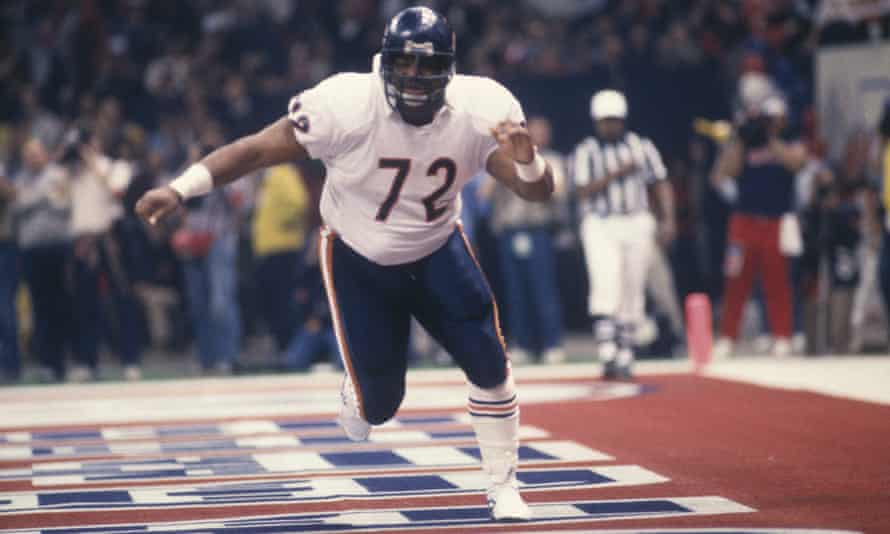 Defensive Lineman William 'The Refrigerator' Perry was used by Ditka as a short yardage back in 1985.