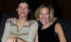 Sigrid and Eva Rausing at a party at the Four Seasons Hotel in London, 2002.