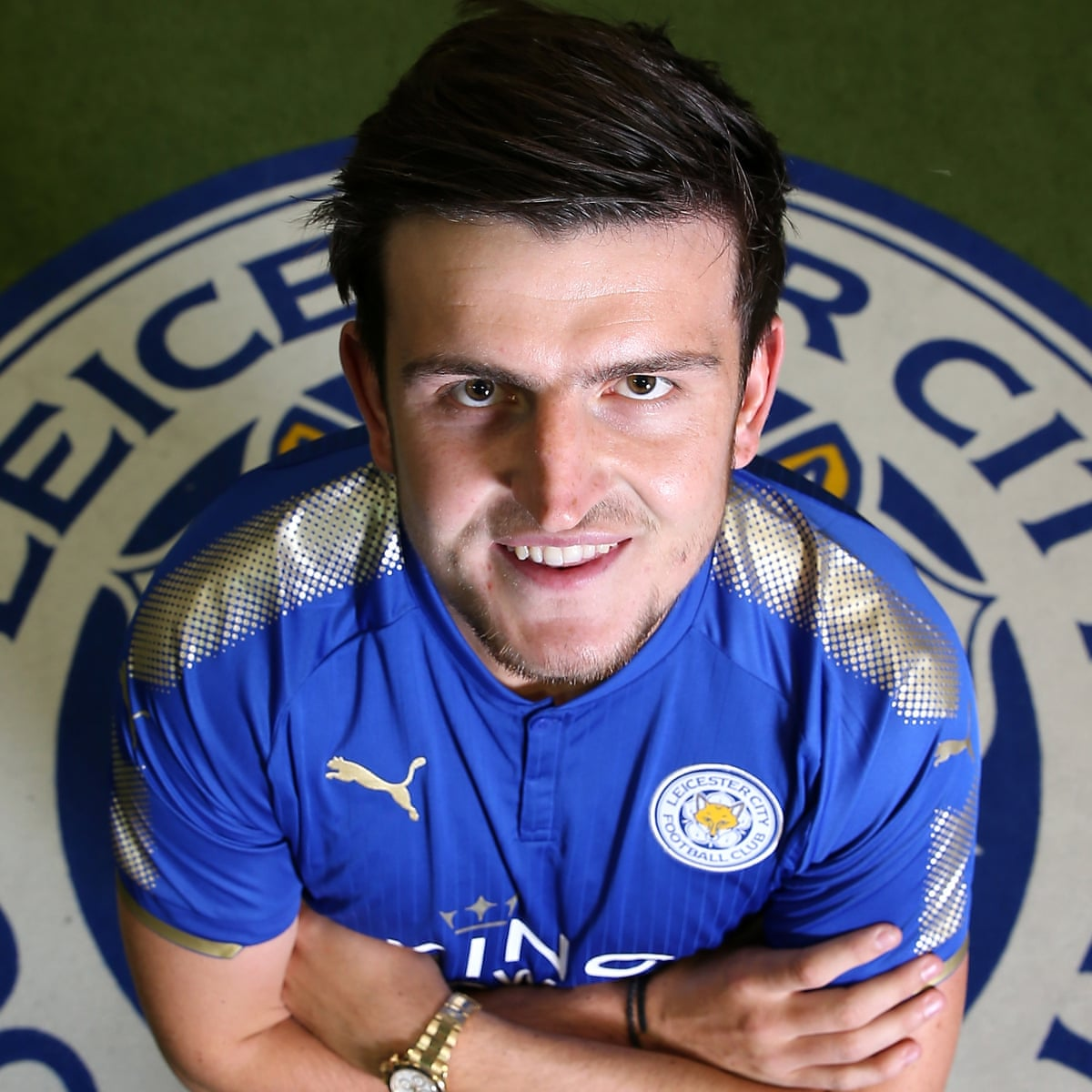 harry maguire completes leicester city transfer from hull leicester city the guardian harry maguire completes leicester city