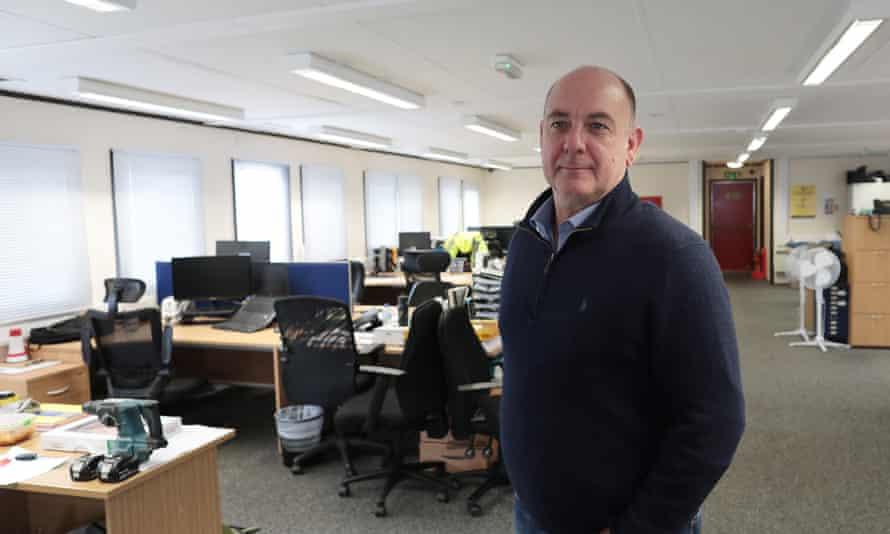 Richard Freemantle, of Freemantle Electrical in Hounslow.
