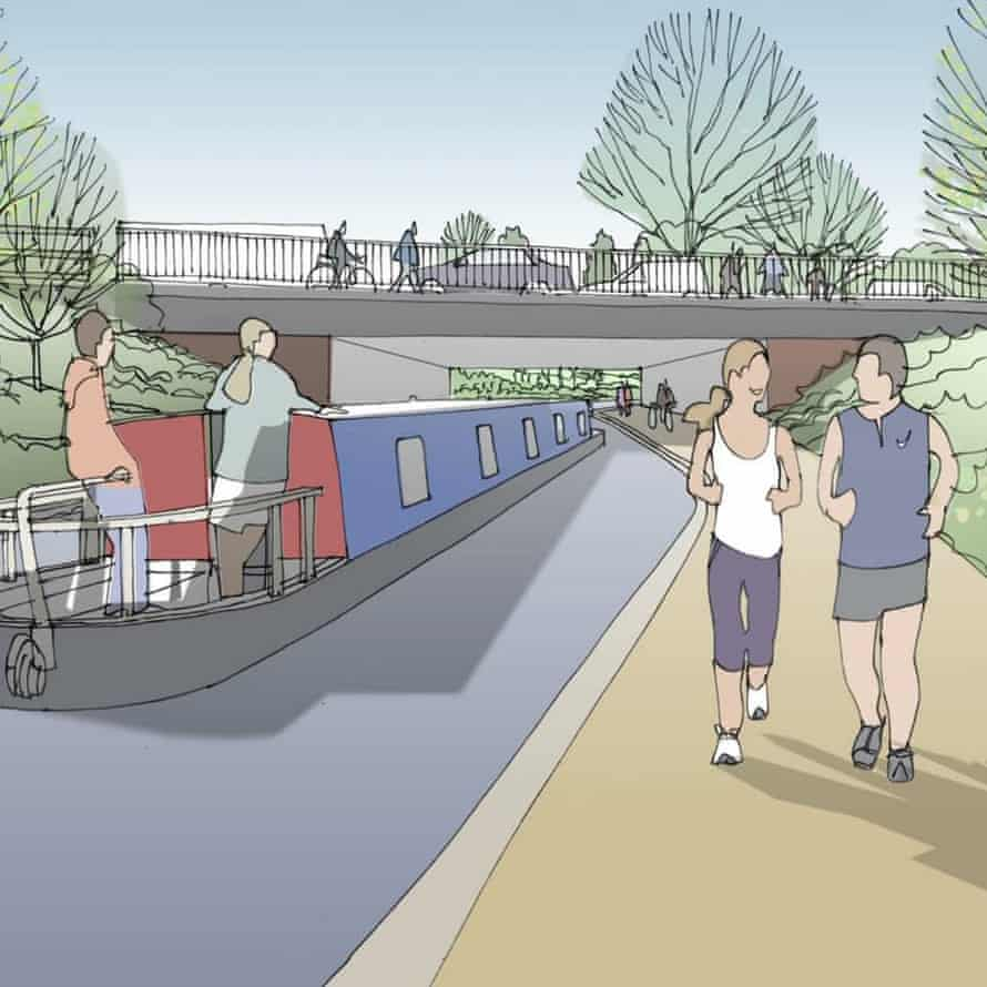 Artist's impression of the transformation