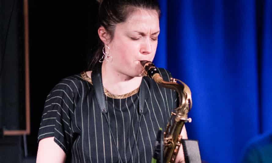 saxophonist Trish Clowes.