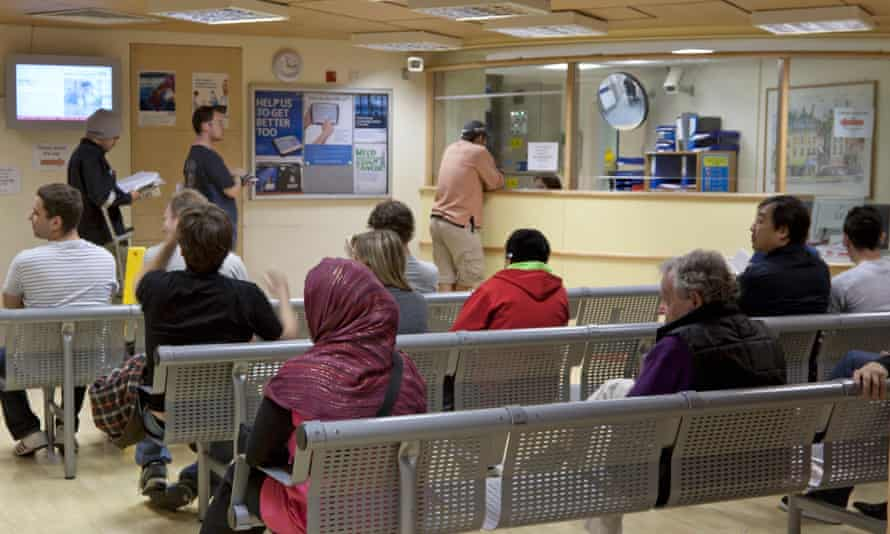 A&E at London's Royal Free Hospital. Remain campaigners say Brexit would starve the NHS of cash and staff.