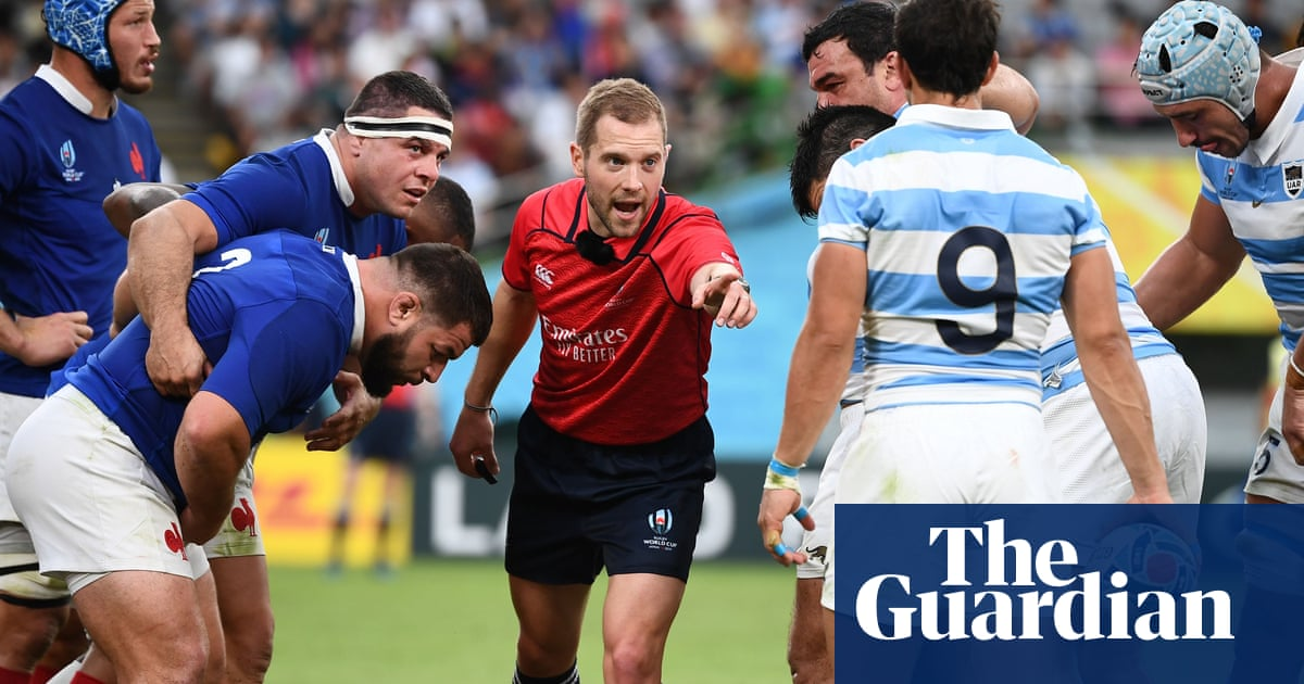Referees' job is getting harder as rugby gets faster and more furious | Robert Kitson