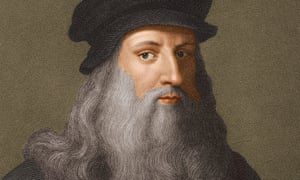 A portrait of Leonardo da Vinci c1510.