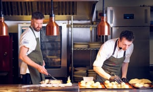 Bistronomy in St Benedicts Street: chef Andrew Jones (left) at Farmyard, Norwich.