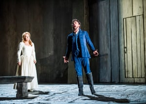Joyce DiDonato (Charlotte) and Vittorio Grigòlo (Werther) in Werther at Royal Opera House, London