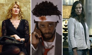 Laura Dern in The Tale, Lakeith Stanfield in Sorry to Bother You and Toni Collette in Hereditary.