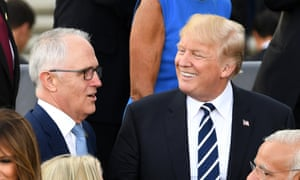 Trump told Malcolm Turnbull: 'I am the world's greatest person that does not want to let people into the country,' according to a newly leaked phone transcript.