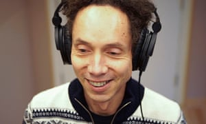 Malcolm Gladwell records his podcast Revisionist History
