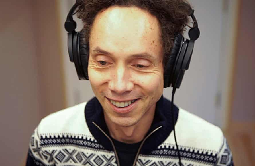 Malcolm Gladwell recording Revisionist History.