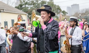 Win Butler at the Krewe du Kanaval in New Orleans last February.