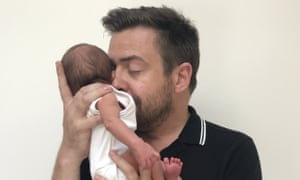 'My entire life is spent assaulting him with cloths and wipes'; fatherhood.
