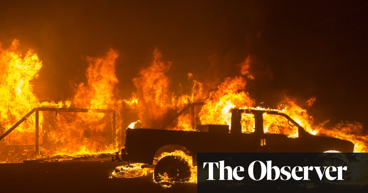 Raining hell down': death toll rises to 25 in California