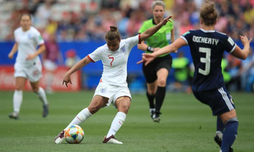Nikita Parris of England shoots during the 2019 Fifa Women's World Cup