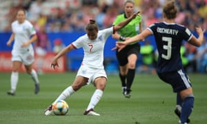 Nikita Parris looked at home on the World Cup stage