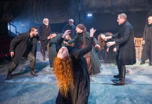 Alluring and mysterious … Yaël Farber's production of The Crucible opened by filling the Old Vic's auditorium with the smell of burning sandalwood.
