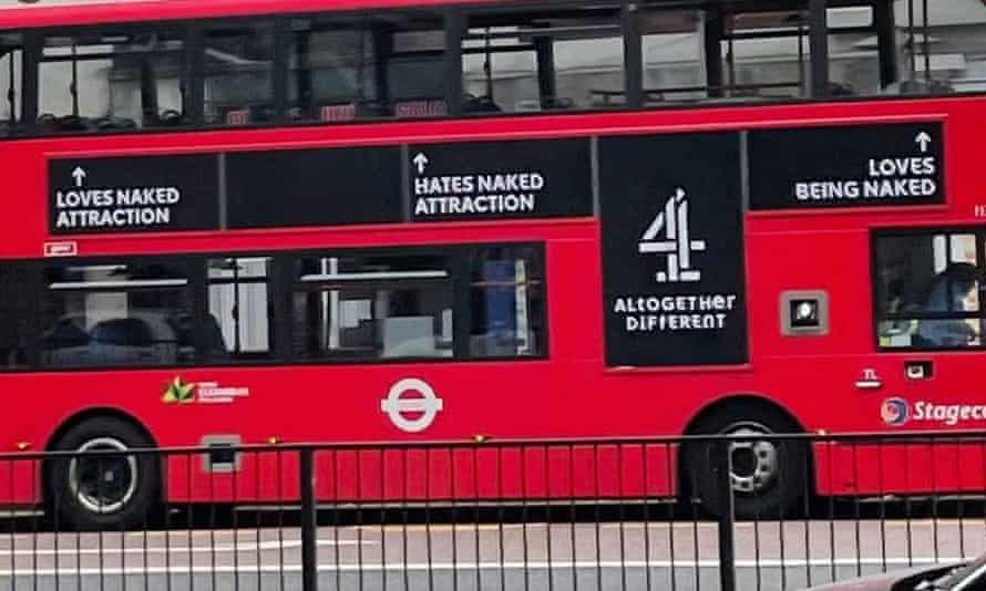 Naked Attraction bus
