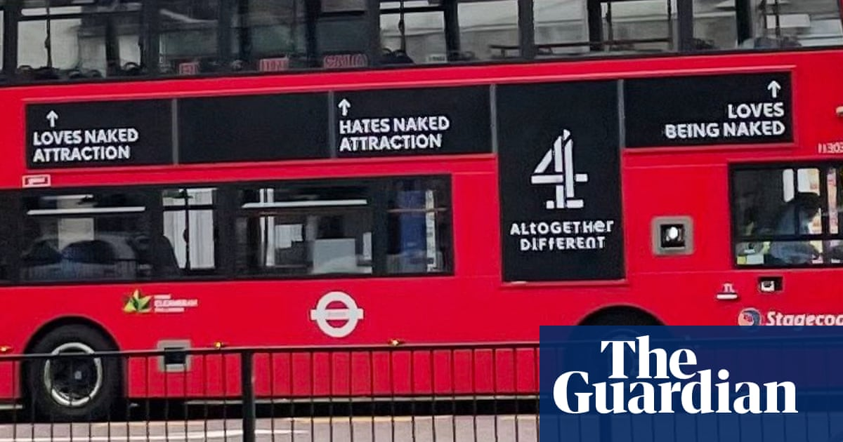 'Creepy' Channel 4 Naked Attraction London bus ads to be removed
