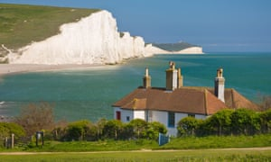 Just east of Seaford is Cuckmere Haven, the Seven Sisters cliffs, Birling Gap and Beachy Head.
