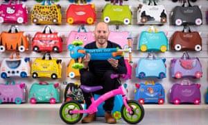 Trunki bikes, scooters and suitcases