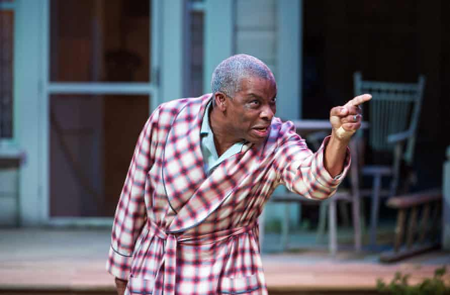 Don Warrington in All My Sons at the Royal Exchange, Manchester, in 2013.