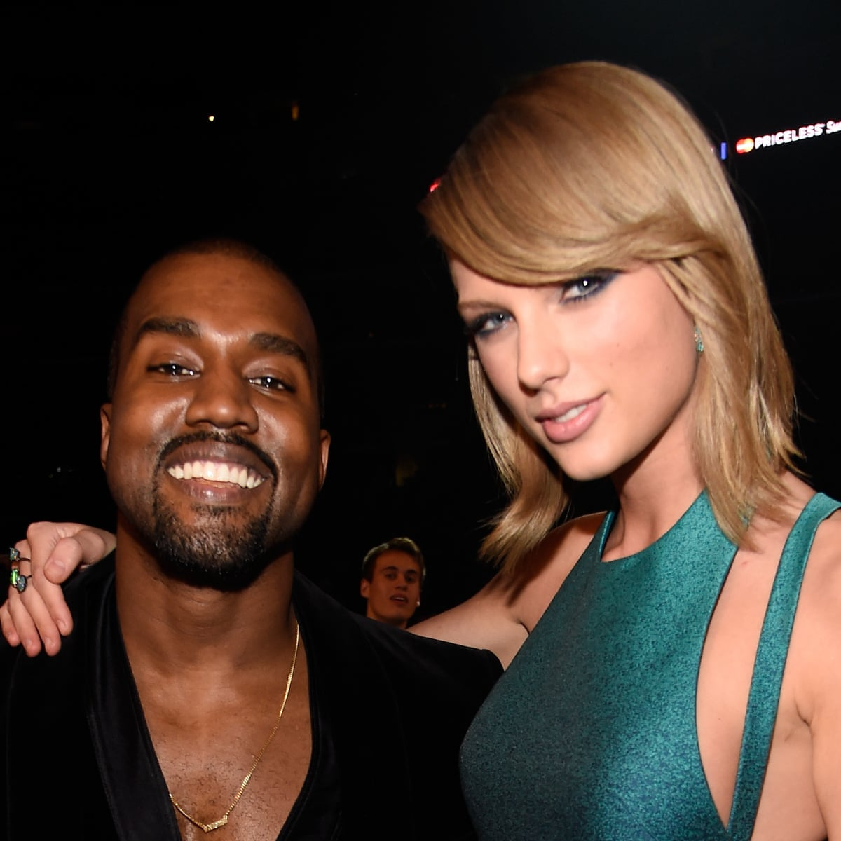 Kanye West Claims Taylor Swift Came Up With Famous Diss Lyric Kanye West The Guardian